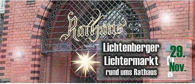 2015 11 29 Lichtermarkt Rathaus Lichtenberg