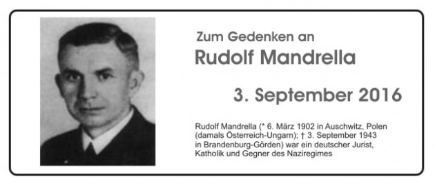 2016 09 03 Rudolf Mandrella