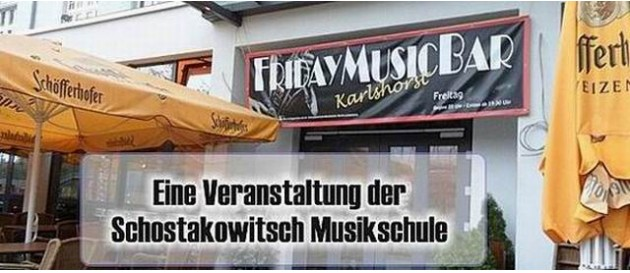 Karlshorst Havanna Bar FridayMusic