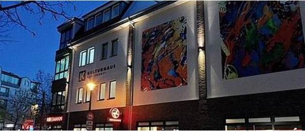 Karlshorst Kulturhaus nacht