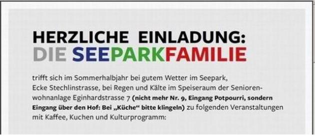 Karlshorst Seepark Familie