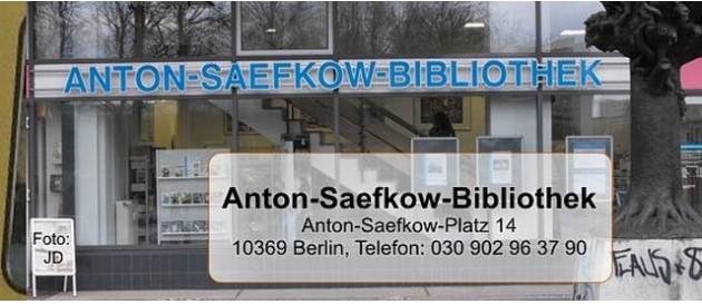 Lichtenberg Fennpfuhl Anton Saefkow Bibliothek