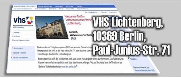 Lichtenberg Volkshochschule