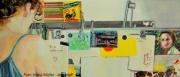 23.05. - Vernissage: RECURSIV Zeichnungen und Malerei